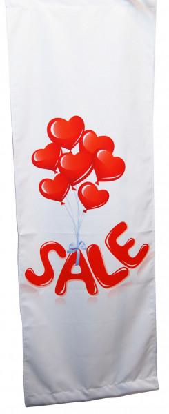Stoffbanner Luftballon