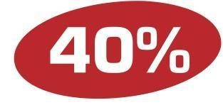 Ankleber40 %