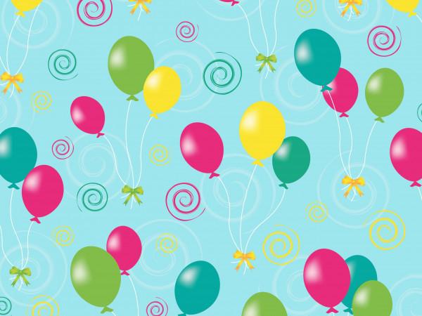 Geschenkpapier Balloons