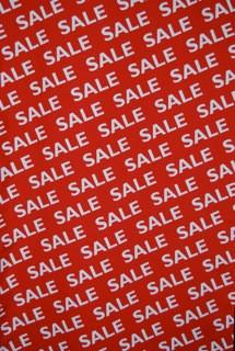 Stoffbanner Sale