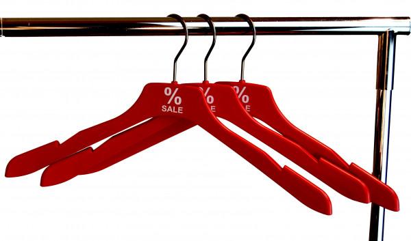 %Sale Shirtbügel, 10 Stück