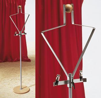 Deko Figur Topo - silber