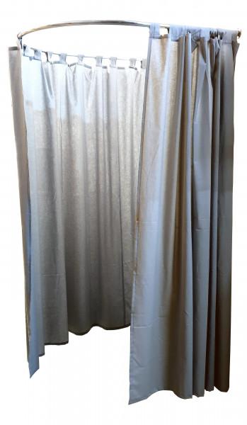Vorhang für Kabine