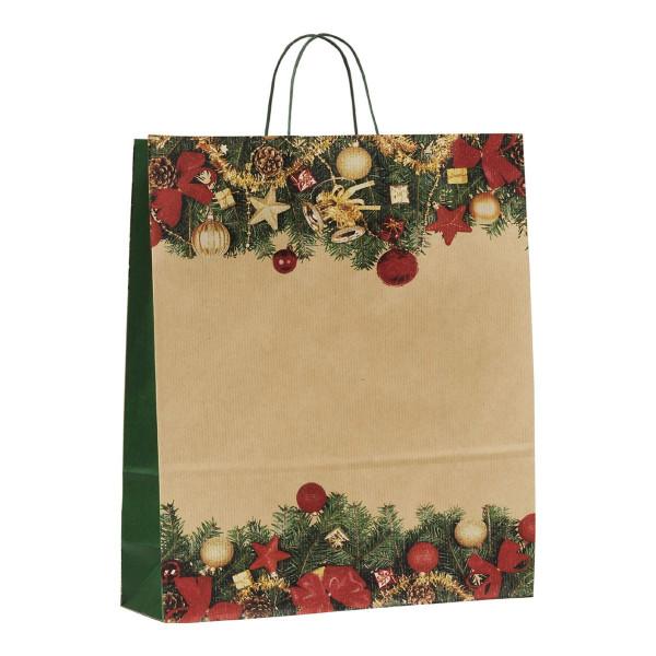 Papiertragetasche Weihnacht