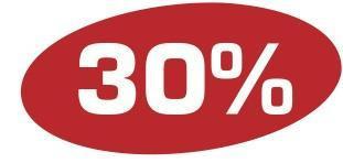 Ankleber 30 %