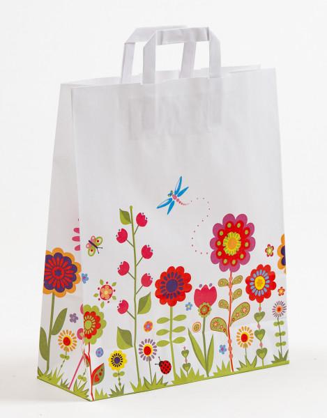 Papiertasche Flora