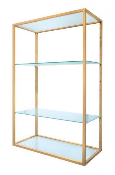 Oro Gondelständer mit Glasplatten