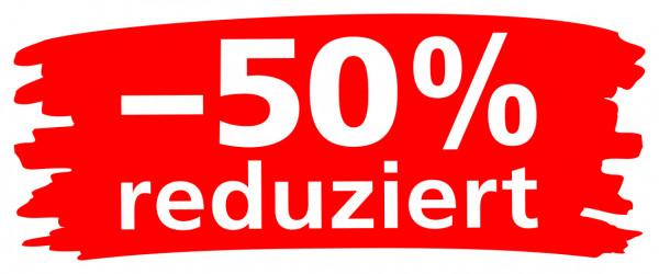 """Ankleber """"Wischer"""" -50% reduziert"""