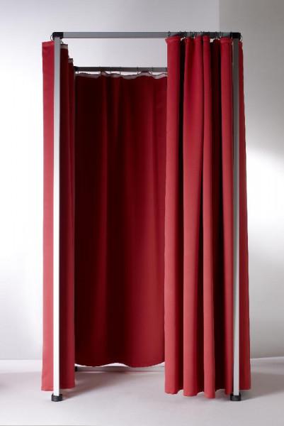 Vorhang für mobile Umkleidekabine