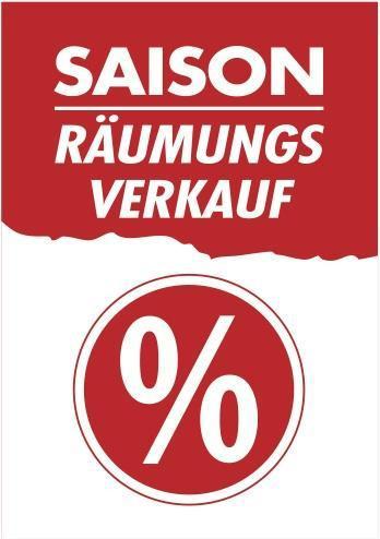 Saison Räumungsverkauf