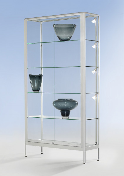 Brandschutz B1 Glasvitrine